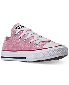 Converse Little Girls' Chuck Taylor All Star Ox Casual Sneakers from Finish Line