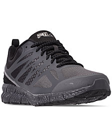 FILA Men's Memory Speedstride TR Trail Running Sneakers from Finish Line