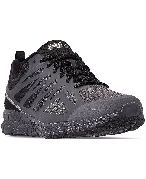 2607f664121e ... Fila Men s Memory Speedstride TR Trail Running Sneakers from Finish ...