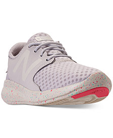 New Balance Girls' FuelCore Coast v3 Slip-On Athletic Sneakers from Finish Line