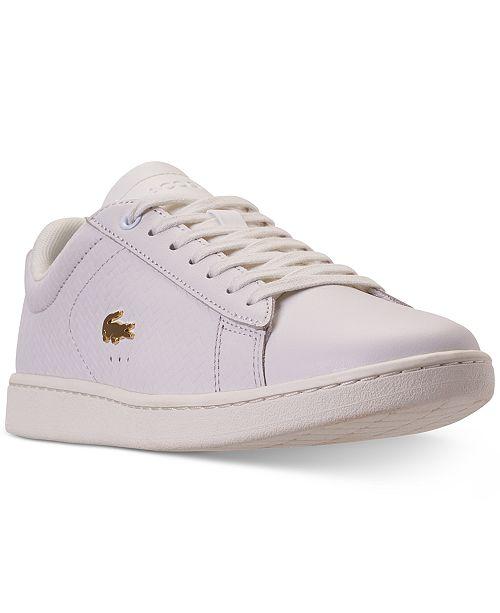 hyvä laatu uusi tuote halpaa alennusta Lacoste Women's Carnaby EVO Paris Casual Sneakers from ...