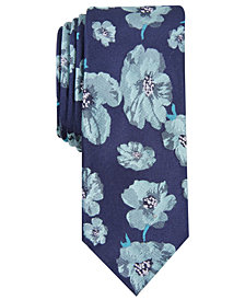 Bar III Men's Hollis Floral Skinny Tie, Created for Macy's