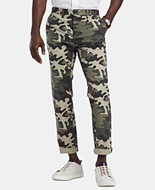 Tommy Hilfiger Men's Camo Pants, Created for Macy's