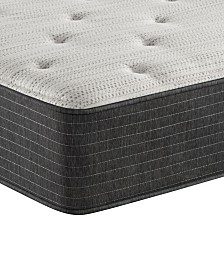 "Beautyrest Silver BRS900-TSS 12"" Plush Tight Top Mattress - Twin XL, Created For Macy's"