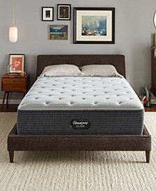 """Beautyrest Silver BRS900-C-TSS 14.5"""" Plush Mattress Collection, Created for Macy's"""