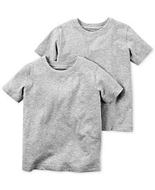 Carter's Little & Big Boys 2-Pk. Cotton T-Shirts