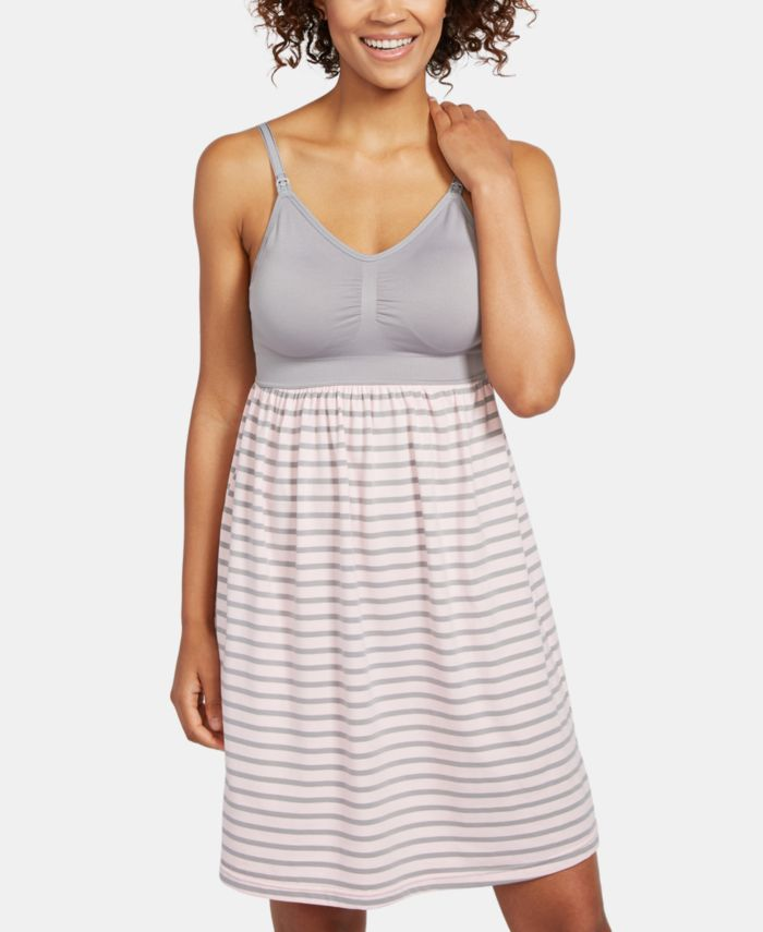 Motherhood Maternity Babydoll Clip-Down Nursing Nightgown & Reviews - Maternity - Women - Macy's
