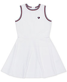 Tommy Hilfiger Big Girls Rib Knit Skater Dress