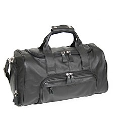 Royce New York Compact Duffel Sports Bag