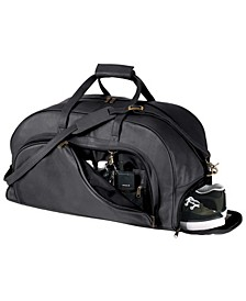 Royce New York Weekender Duffel Bag with Shoe Compartment