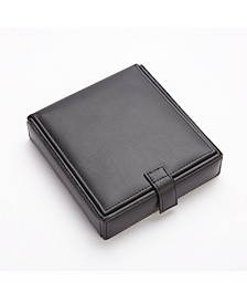 Suede Lined Watch Cufflink Storage Case