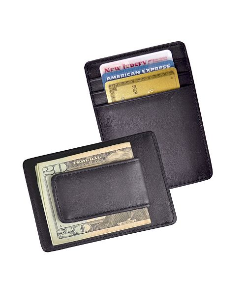 Royce Leather Royce New York Magnetic Money Clip Wallet