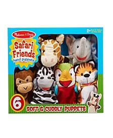 6-Piece Safari Puppet Set