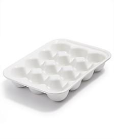 Martha Stewart Collection Ceramic Egg Tray, Created for Macy's