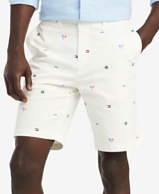 Tommy Hilfiger Men's Tennis Critter Graphic Shorts, Created for Macy's