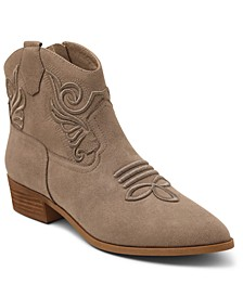 Fenton Embroidery Western Booties