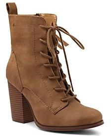 Magar Lace Up Booties