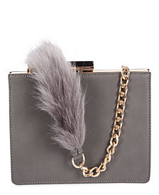 Céline Dion Collection Leather-Like Resonnance Clutch