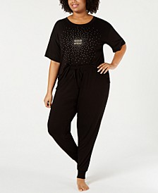 Plus Size Core Knit Pajama Collection, Created for Macy's