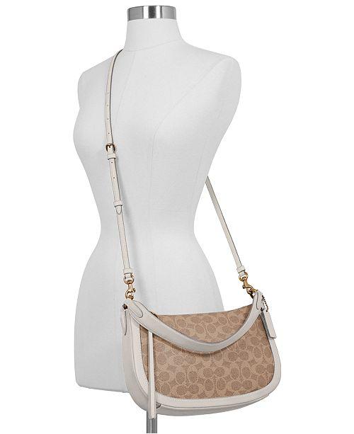 65f81ba0e3d COACH Sutton Crossbody in Signature Canvas & Reviews - Handbags ...