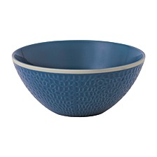Royal Doulton Exclusively for Maze Grill Hammer Blue Bowl