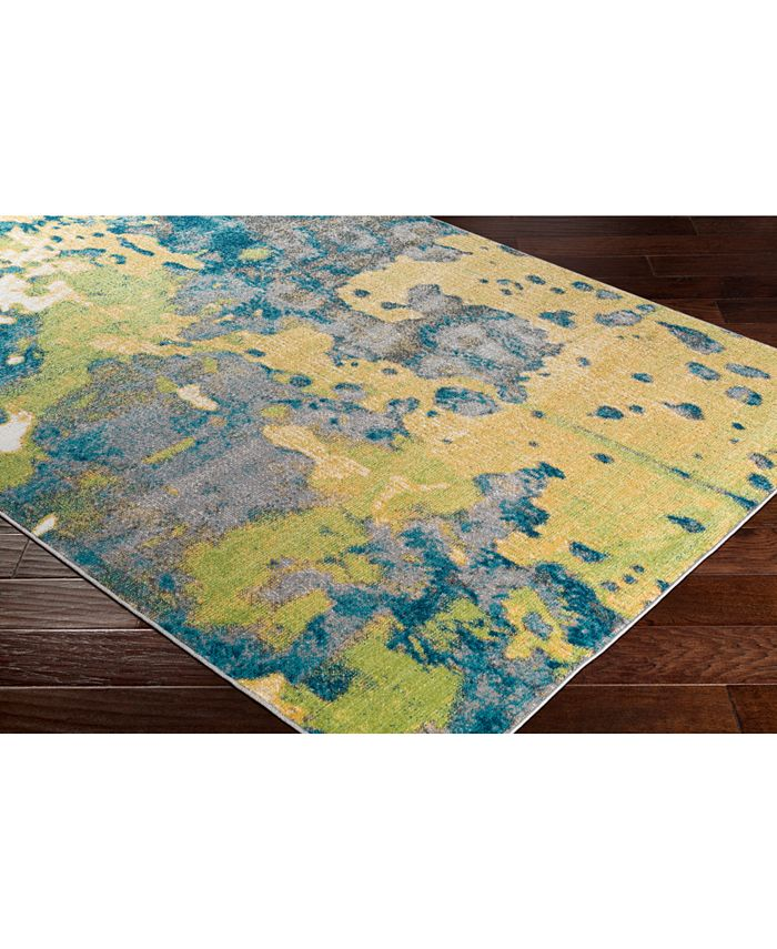"""Abbie & Allie Rugs - Rafetus ETS-2325 Butter 18"""" Square Swatch"""