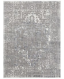 "Katmandu KAT-2305 Charcoal 5'3"" x 7'3"" Area Rug"