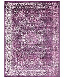 """Surya Mumbai MUM-2316 Dark Purple 5'3"""" x 7'3"""" Area Rug"""