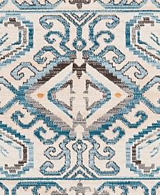 "Surya Notting Hill NHL-2308 Teal 18"" Square Swatch"