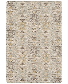 "Robin RBI-1007 Sea Foam 5' x 7'6"" Area Rug"