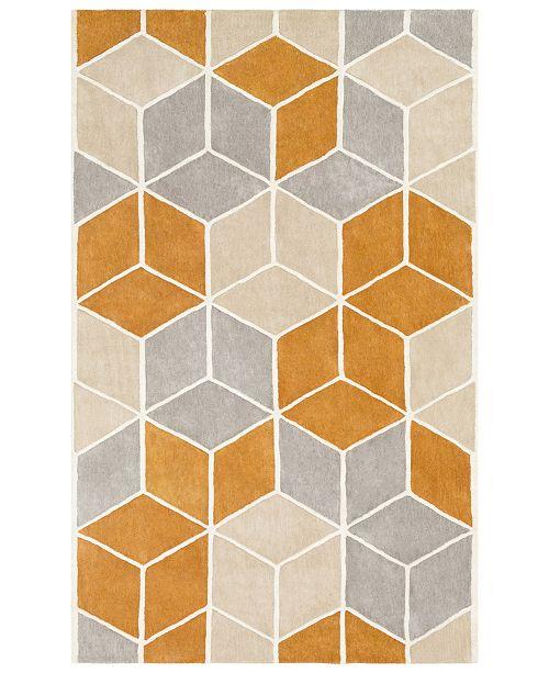 Surya Oasis OAS-1134 Burnt Orange 2' x 3' Area Rug
