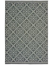 """Oriental Weavers Marina 3969L Gray/Ivory 5'3"""" x 7'6"""" Indoor/Outdoor Area Rug"""