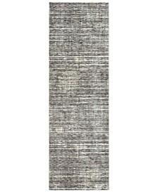 """Presidential PDT-2309 Medium Gray 3'3"""" x 10' Runner Area Rug"""