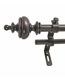 Montevilla Urn Telescoping Curtain Rod Collection