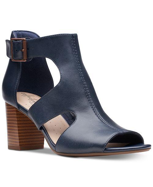 Clarks Collection Women s Deva Heidi Heeled Sandals   Reviews ...