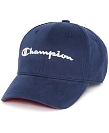 Men's Cotton Twill Logo Hat