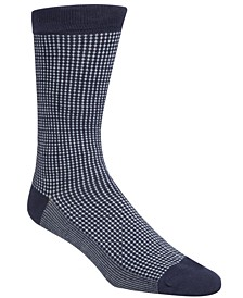 Men's Checked Crew Socks