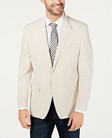 Men's UltraFlex Classic-Fit Seersucker Sport Coat