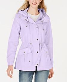 Maralyn & Me Juniors' Hooded Water Resistant Anorak Jacket