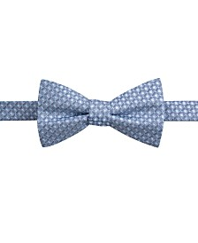 Ryan Seacrest Distinction™ Men's Sinatra Neat Pre-Tied Silk Bow Tie, Created for Macy's