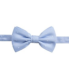 Ryan Seacrest Distinction™ Men's Burgos Dot Pre-Tied Silk Bow Tie, Created for Macy's