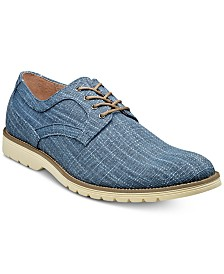 Stacy Adams Eli Textured Canvas Oxfords
