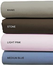 200 Thread Count 100% Cotton 4 Piece Bedsheet Set - Full
