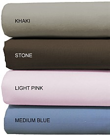200 Thread Count 100% Cotton 4 Piece Bedsheet Set - Full