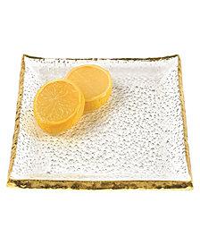 "Gold Edge 7"" Plate"