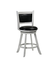 Charleston Swivel Bar Stool Vinyl Fabric