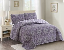 Isabelle 3 Piece Quilt Set King