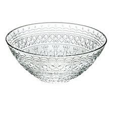 "Lorren Home Trends Medici 6.5"" Deep Cereal/Soup Bowls - Set of 4"