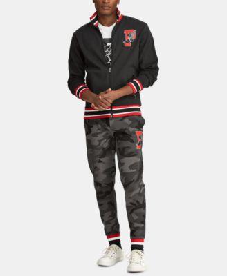6dbb7d09d7 Finders | Men's Big & Tall P-Wing Cotton Track Jacket