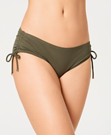 MICHAEL Michael Kors Side-Tie Bikini Bottoms, Created for Macy's